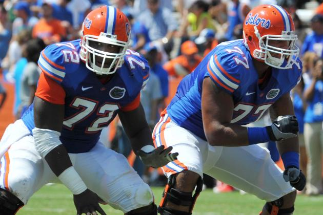 Florida O-Line Could Become Team's Biggest Strength