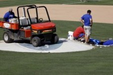 Ballpark Sinkhole Cancels BP in Texas