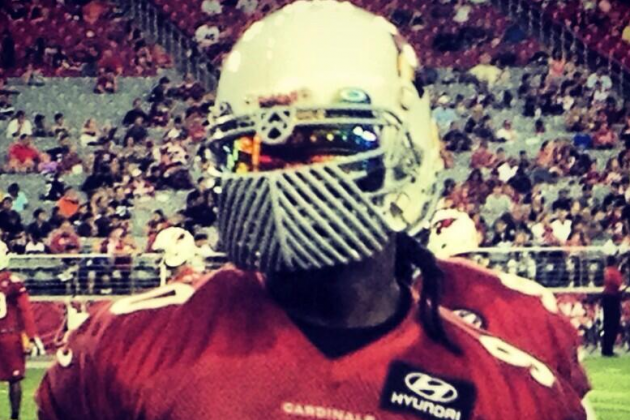 Darnell Dockett Takes Facemask Game to a Whole New Ridiculous Level