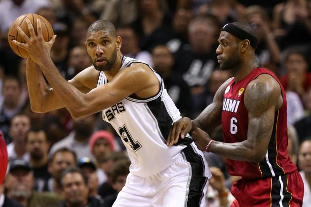 Heat vs. Spurs: Can LeBron, Chalmers and Allen Break out of Slump?
