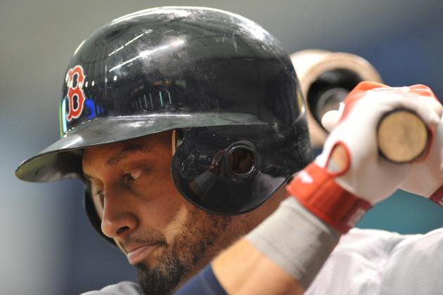 Shane Victorino and Jose Iglesias out vs. Rays