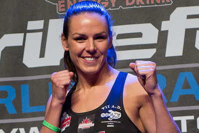 Alexis Davis Poised to Become the Biggest Threat to Ronda Rousey's Title Reign