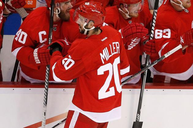 Wings Hoping to Re-Sign Veteran Forwards Daniel Cleary, Drew Miller