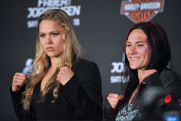 Cat Zingano, Husband and Ronda Rousey All Gang Up on Miesha Tate on Twitter