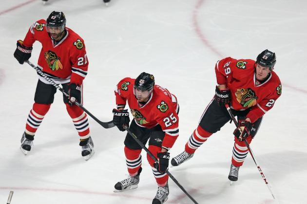 Detroit Red Wings Have Eyes on Chicago's Bryan Bickell, Viktor Stalberg
