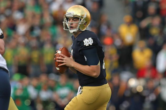 ND's Tommy Rees Doesn't Have to Fight for His Starting Job