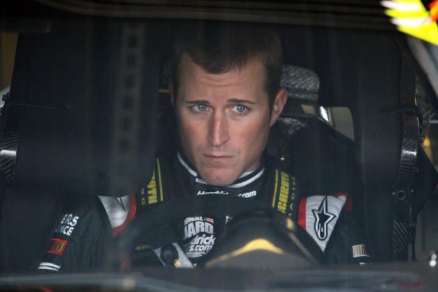 NASCAR's Kasey Kahne Visits Buccaneers Minicamp