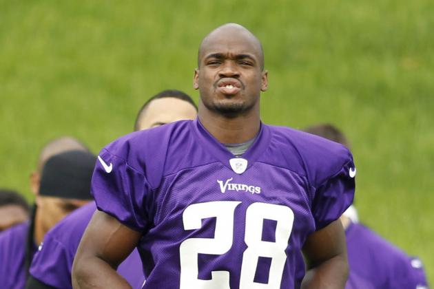 Report: Adrian Peterson's Brother Investigated for Drug Dealing
