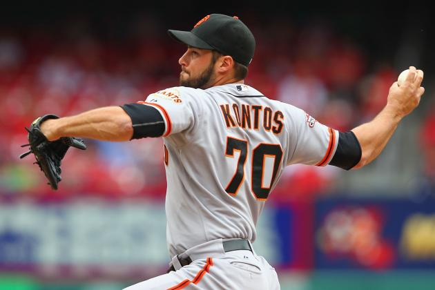 George Kontos and Bruce Bochy Receive Suspension