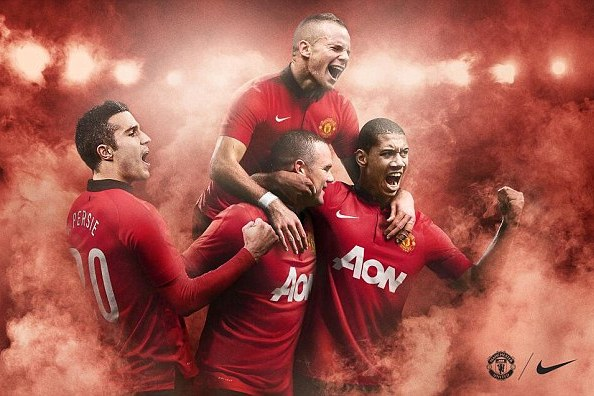 Manchester United New Kit: Red Devils' 2013-14 Jerseys Make for a Unique Look