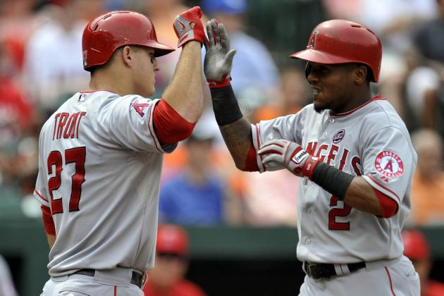 Angels Halt Skid with Win over O's