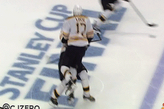 Watch: Lucic, Jagr in a 'Gigantic' Collision