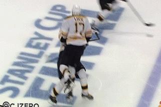 Watch: Lucic, Jagr in a 'Gigantic' Collision