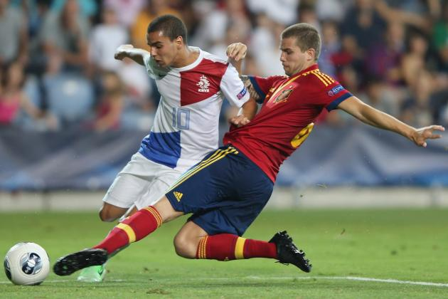 European Under-21 Championships: Spain Top Group, Russia Take Wooden Spoon