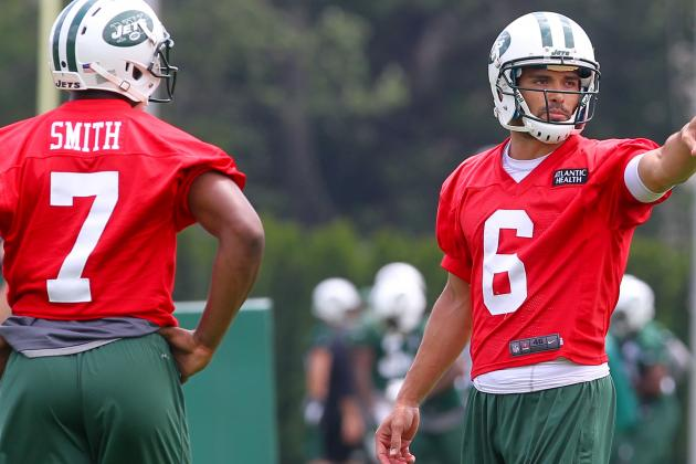 Mark Sanchez and Geno Smith Haven't Separated Jets QB Coach