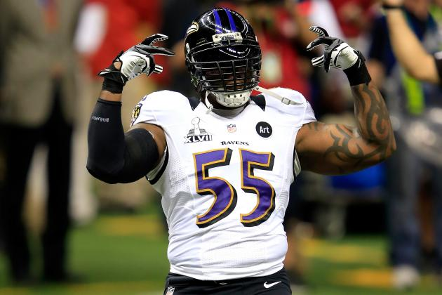 Terrell Suggs Is Noticeably Slimmer, Eyeing Comeback