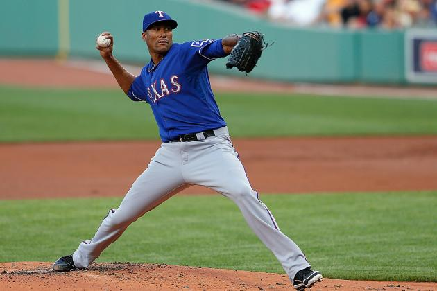 GM Jon Daniels: Moving Alexi Ogando Back to Bullpen 'not Really a Consideration'