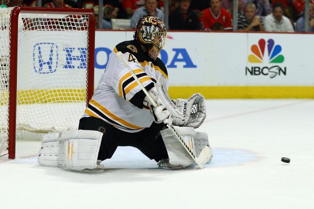 Boston Bruins Goalie Tuukka Rask: It Wasn't Our Night