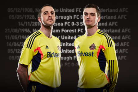Sunderland Away Shirt for 2013-14 Season: Official [PHOTOS]