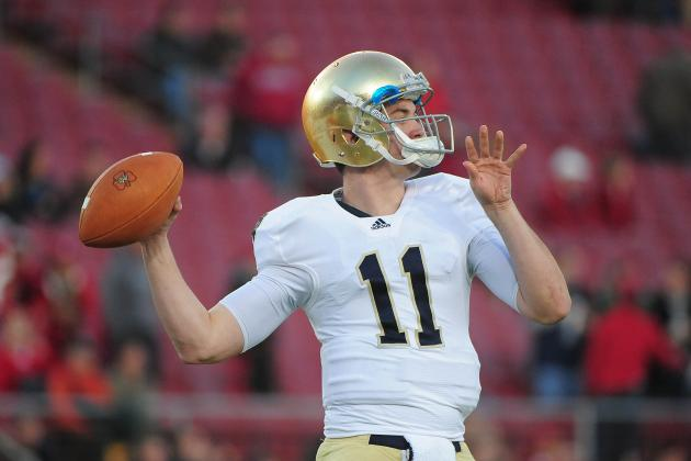 Notre Dame Football: Will Tommy Rees Still Be Irish Starting QB After Week 1?