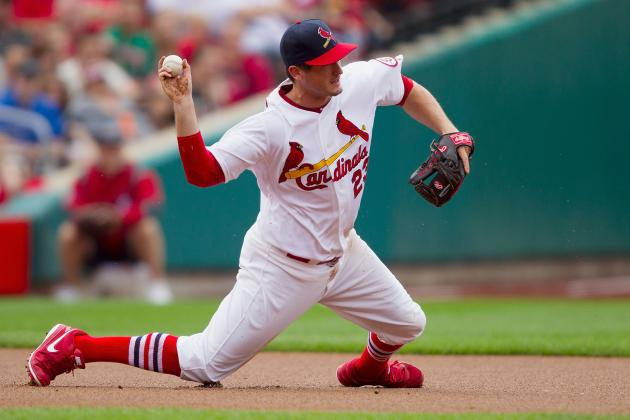 Freese Out, Descalso in at 3B vs. Mets