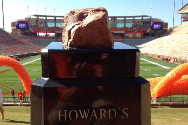Howard's Rock, Toomer's Corner...What's Next, Sooner Schooner? Touchdown Jesus?