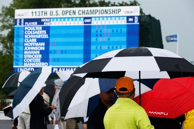 US Open Golf 2013 Leaderboard: Top Day 1 Storylines and Predictions for Stars