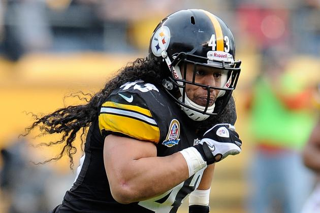 Troy Polamalu: I'm Healthy Now, but Now Doesn't Matter