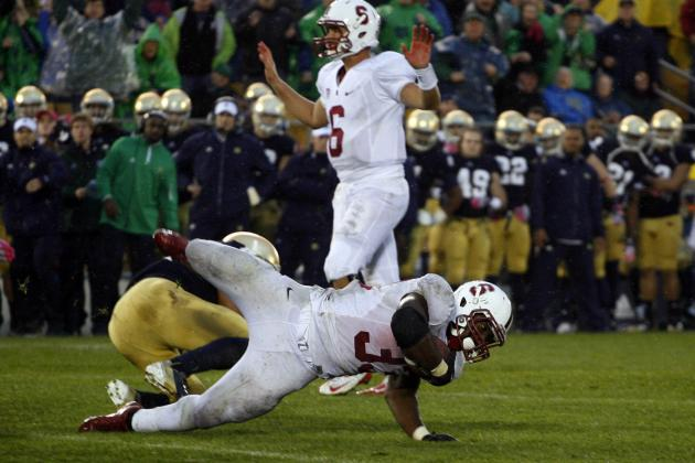 Notre Dame-Stanford Leads Fox's 2013 College Football Schedule