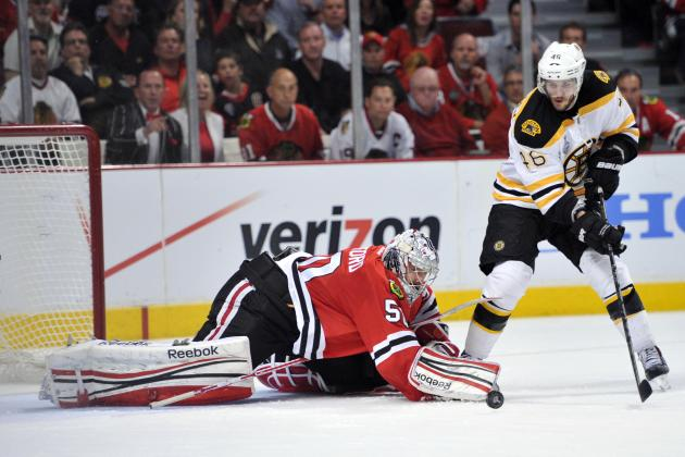 Stanley Cup Final 2013: Chicago's Corey Crawford Proving He's an Elite Goalie