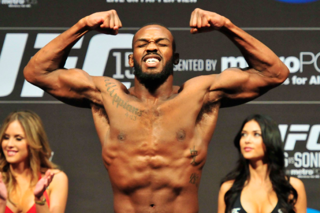 Jon Jones vs. Alexander Gustafsson Headlines UFC 165 in Toronto