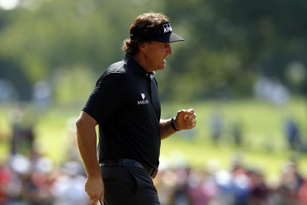 US Open Leaderboard 2013: Day 1 Real-Time Updates for All Leaders