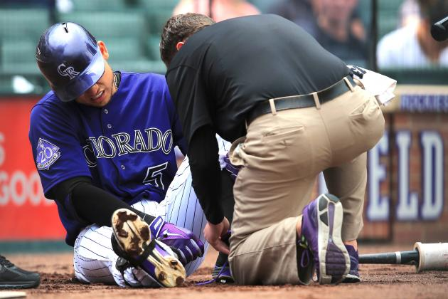 Carlos Gonzalez Injury: Updates on Rockies Star's Foot