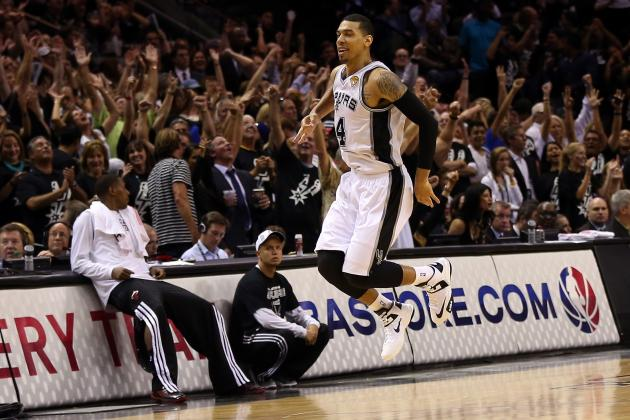 NBA Playoffs 2013: Most Stunning Statistics from Spurs-Heat Series