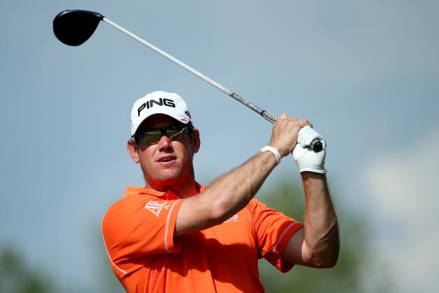 Lucky Fan Catches Lee Westwood's Horrible Shot at US Open from Merion