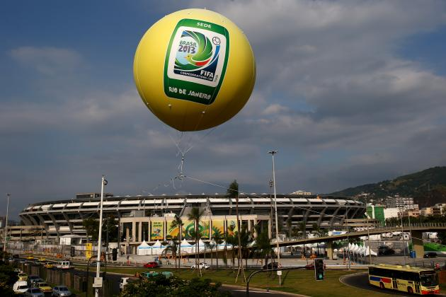 Confederations Cup 2013 TV Schedule: Previewing Opening Action for FIFA Tilt