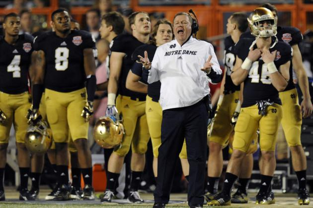 Notre Dame Football 2013: Predicting Who Will Earn Vacant Starting Positions