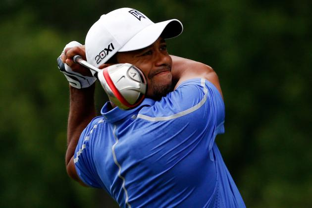 Tiger Woods at US Open Golf 2013: Day 1 Recap and Twitter Reaction
