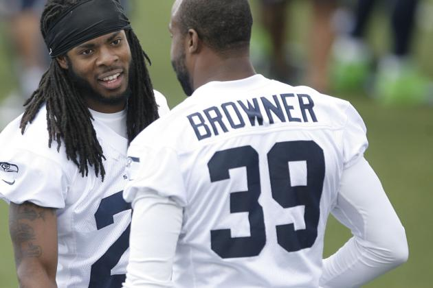 Brandon Browner Would Like to Wring Harbaugh's Neck
