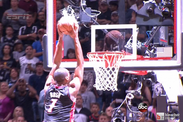 Chris Bosh With The Ultimate Chris Bosh Play