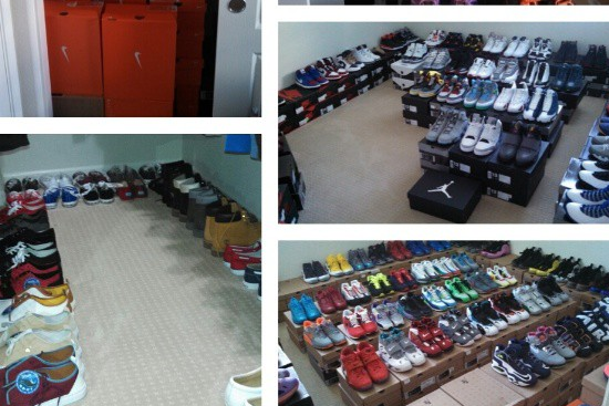 Instagram: Kap Shows Off Crazy Shoe Collection
