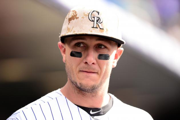 Will Troy Tulowitzki's Rib Injury End Rockies' Chances of Winning NL West?