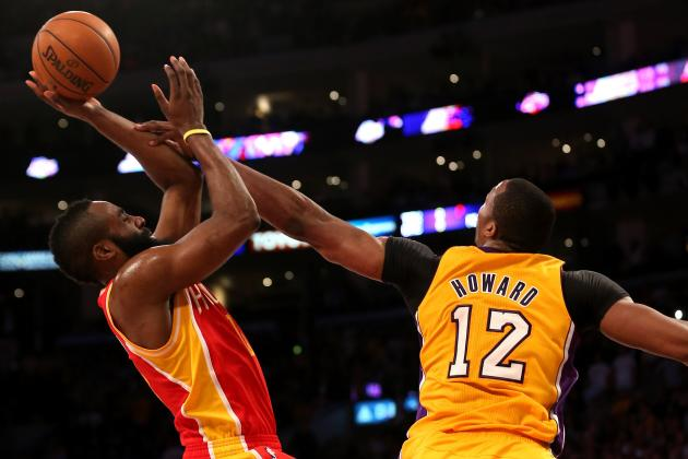 Is Dwight Howard's Legacy Better Tied to Kobe Bryant or James Harden?
