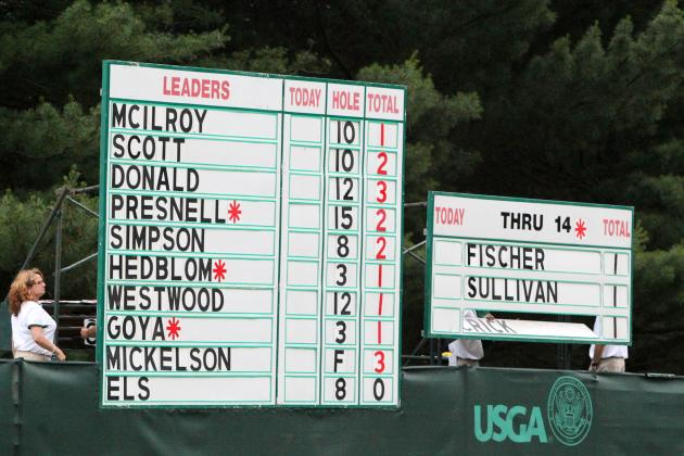 US Open Golf TV Schedule 2013: Definitive Guide to Second-Round Action
