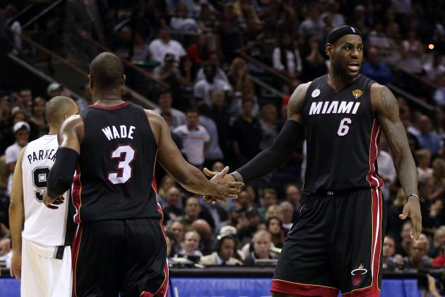 NBA Finals 2013: Dwyane Wade's Huge Game 4 Raises Bar for LeBron James