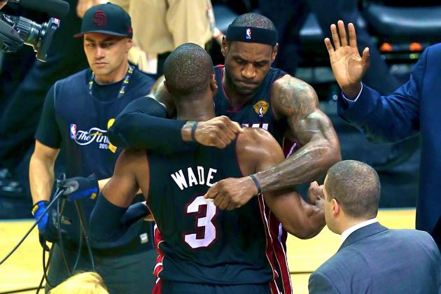 LeBron Says Dwyane Wade Was '06 Flash' in Game 4