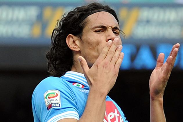 Edinson Cavani Is Determined to See Through a Move to Real Madrid