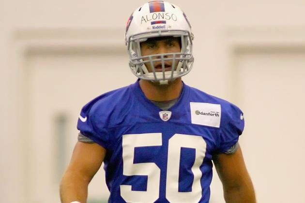 Break Time for Alonso, Bills Teammates