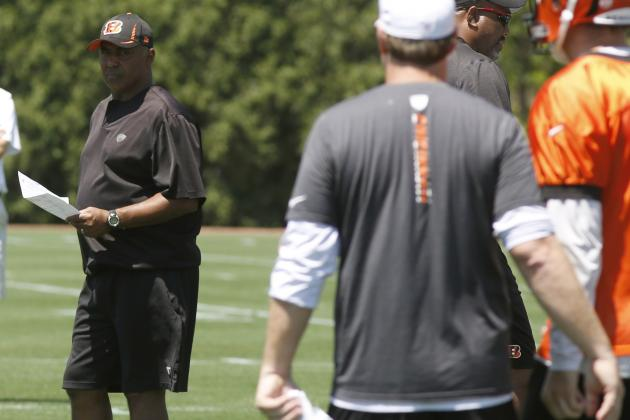 Marvin Lewis Pleased with Bengals' Progress