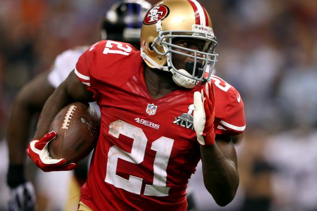 San Francisco 49ers Running Back Frank Gore Inspired by Critics